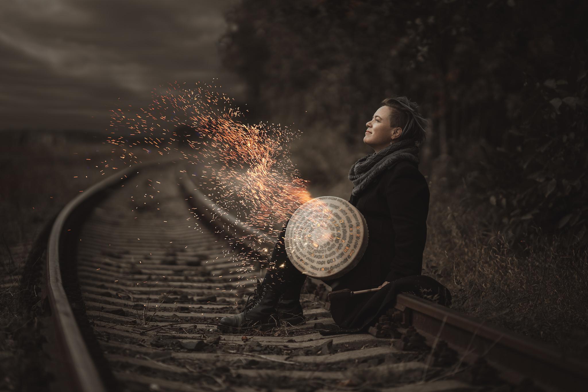 šamanka na kolejích