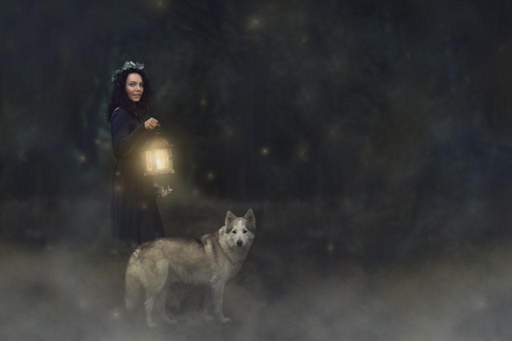 Čarodějka se psem